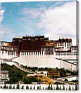 Potala Palace Dalai Lama Home Place. Tibet Kailash Yantra.lv 2016  Canvas Print