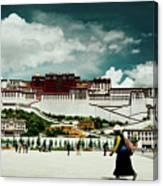 Potala Palace. Lhasa, Tibet. Yantra.lv Canvas Print