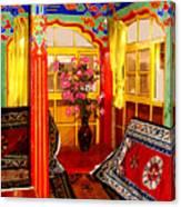 Potala Tea Room Canvas Print
