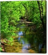 Potamac River In Maryland Canvas Print
