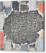 Pothole Repair Canvas Print