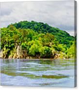 Potomac Palisaides Canvas Print