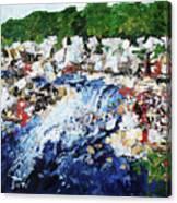 Potomac River At Great Falls  4 201687 Canvas Print