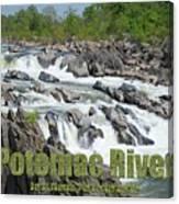 Potomac River Canvas Print