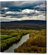 Potomac River Valley - West Virginia Canvas Print