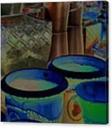 Pots Canvas Print