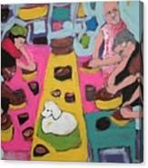 Potters Canvas Print