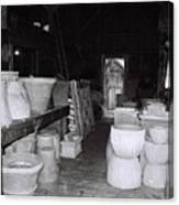 Potting Barn Of Maine Canvas Print