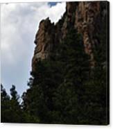 Poudre Canyon Canvas Print