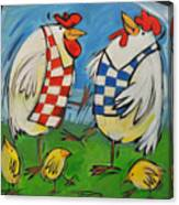 Poultry In Motion Canvas Print