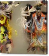 Pow Wow Beauty Of The Dance 1 Canvas Print