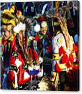 Pow Wow Beauty Of The Past 5 Canvas Print