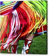 Pow Wow Beauty Of The Past 9 Canvas Print