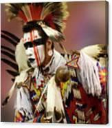 Pow Wow Chicken Dancer 1 Canvas Print