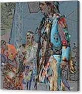 Pow Wow Competition Canvas Print
