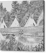 Pow Wow Canvas Print
