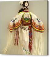 Pow Wow Traditional Dancer 3 Canvas Print