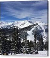 Powder Day On The Pass Canvas Print