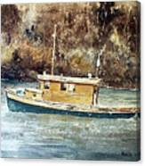 Powell River Canada Canvas Print