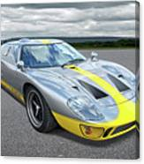 Power And Performance - Ford Gt40 Canvas Print