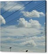 Power Clouds Canvas Print