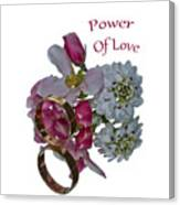 Power Of Love Canvas Print
