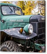Power Wagon Canvas Print