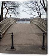 Power Walking In Central Park Canvas Print