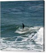 pr 127 - Solo Surfer Canvas Print