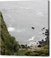 pr 166 - Cliffs Of Big Sur Canvas Print