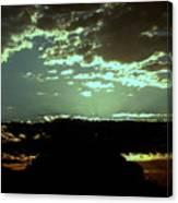 pr 171 - Green Sunset II Canvas Print
