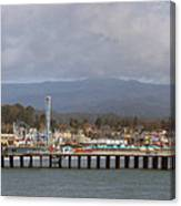 pr 205- The Boardwalk At Santa Cruz Canvas Print
