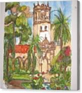 Prado- Balboa Park Canvas Print