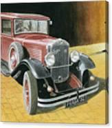 Praga Alfa Canvas Print