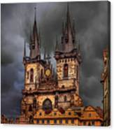 Prague Cathedral Canvas Print