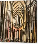 Prague Catherderal Canvas Print
