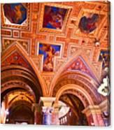 Prague Church Ceiling Canvas Print
