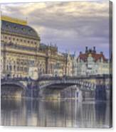 Prague, Czech Republic Canvas Print