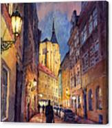 Prague Husova Street Canvas Print