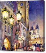 Prague Old Town Square 3 Canvas Print