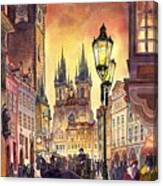 Prague Old Town Squere Canvas Print