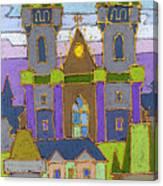 Prague Panorama Canvas Print