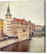 Prague View Canvas Print