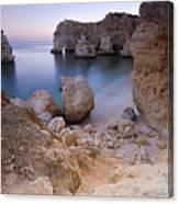 Praia Da Marinha Canvas Print