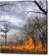 Prairie Fire Canvas Print