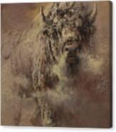 Prairie Frost Canvas Print