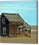 Prairie Home  Canvas Print