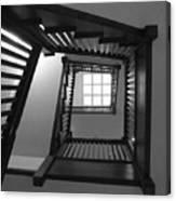 Prairie House Stairs Canvas Print