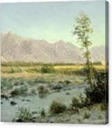 Prairie Landscape Canvas Print