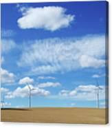 Prairie Landscape Alberta Canada Canvas Print